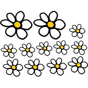 Image result for daisy car stickers uk