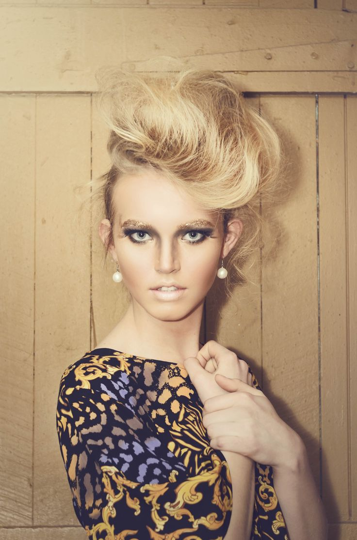 Golden Quiffed Hair - Styled by KTIZO Hair & Skin