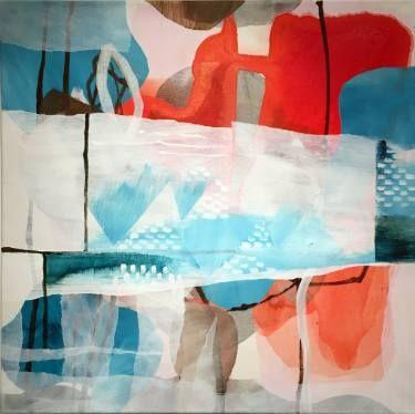 """Saatchi Art Artist Randi Antonsen; Painting, """"january"""" #art"""