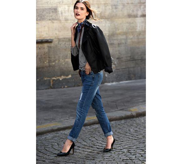 L'instant mode : la rentrée se fera en jean avec Promod - Elle
