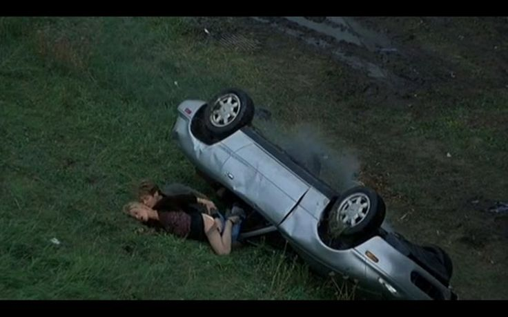 Film still from Crash, 1996