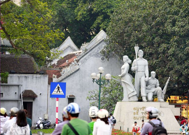 History is very much present in Hanoi which makes it a fascinating place to take the kids. We have an insider's guide to where to go and what to do at http://www.suitcasesandstrollers.com/interviews/view/vietnam-with-kids-hanoi-insider?l=all #GoogleUs #suitcasesandstrollers #travel #travelwithkids #familytravel #familytraveltips #traveltips #statues #Vietnam #communism #history #remember