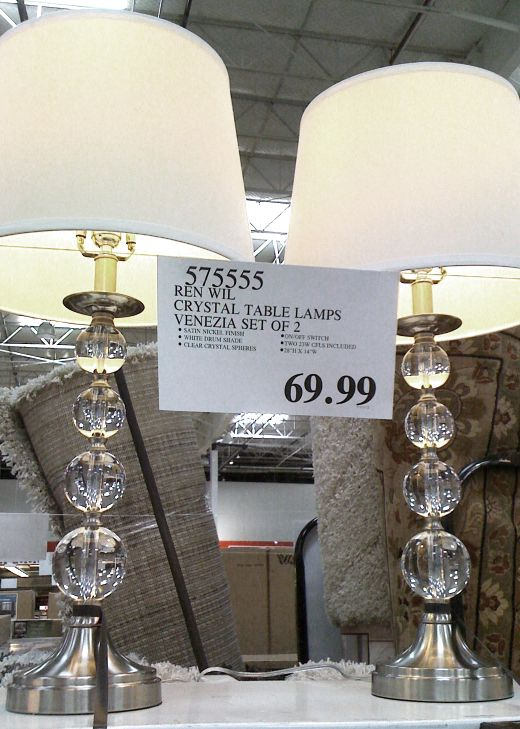 Crystal Table Lamps From Costco Tween To Teen Girls
