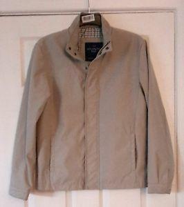 Atlantic-Bay-Men-039-s-Beige-Zip-Up-Jacket-Size-Small