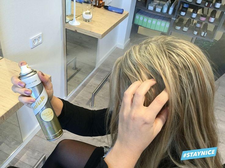 Test af 3 forskellige tørshampooer
