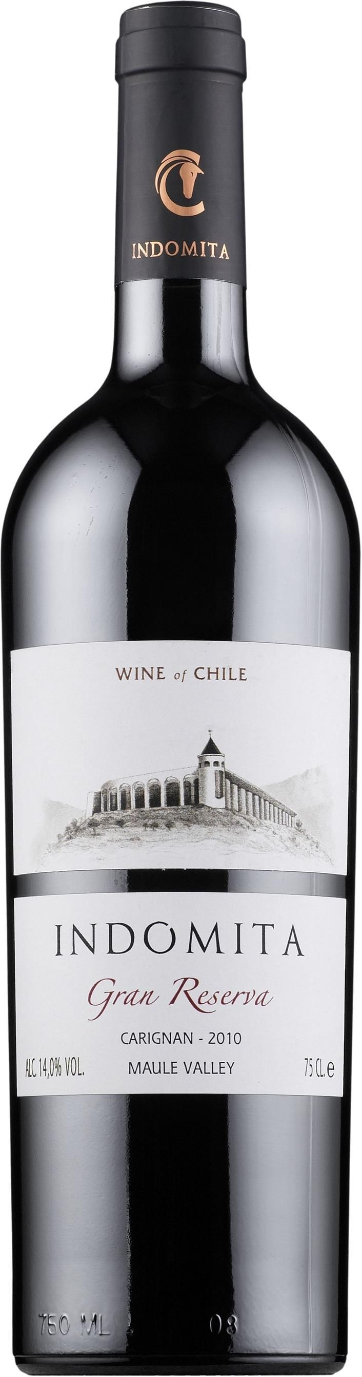 Carignan / 15% Cabernet sauvignon 2014 *Indomita Gran Reserva* - Viña Indomita, Región de Aconcagua, Chile------ Terroir: Valle del Maule - Región Central, Chile
