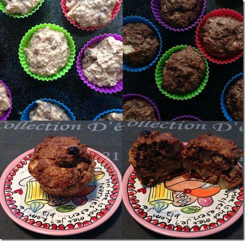 Havermout appel muffin ...Ik ben dol op zoet en heb dus graag een lekker tussendoortje mee naar mijn werk of thuis bij de thee:). Vandaar deze muffins. Stiekem eet ik ze ook als lunch omdat ze zo verantwoord zijn! En een st...