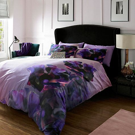 Buy Ted Baker Cosmic Bedding, Purple Online at johnlewis.com