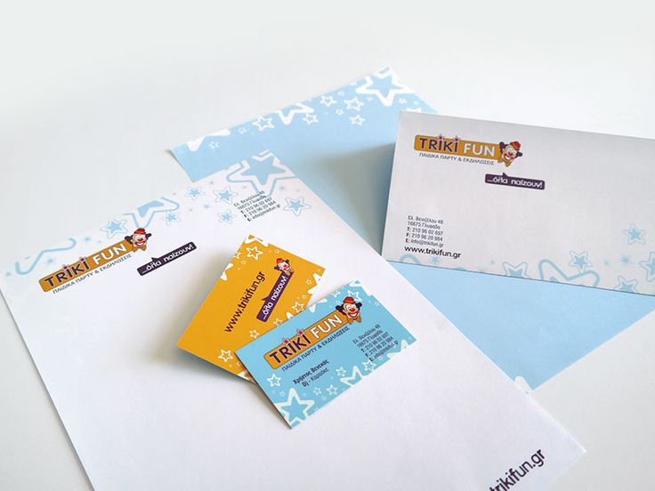 ThinkBAG created the Corporate ID of Triki Fun: Strategic Marketing | Full Corporate ID | Printing the Stationary and Business Cards