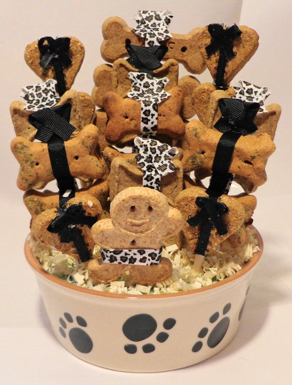 Use code CYBERMONDAY10 and get 10% off your order til 12/2! Custom dog biscuit gift baskets