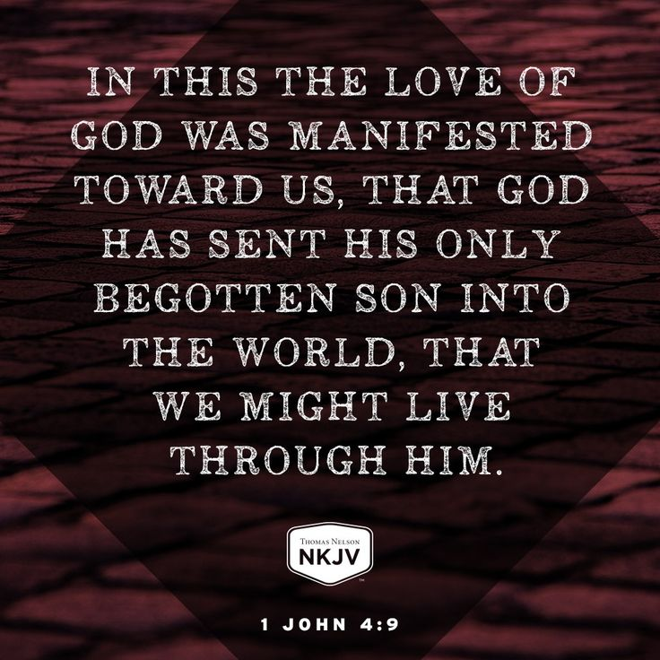 NKJV Verse of the Day: 1 John 4:9  GOD #faith #family #limu - edwhite.iamlimu.com