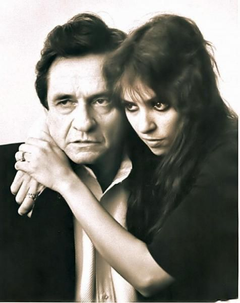Johnny Cash and his daughter Cindy