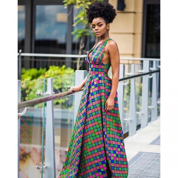 30 Best Kitenge Designs For Long Dresses 2019 Kitenge
