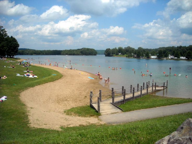 Summersville Lake, WV. Look, we have a beach, too!