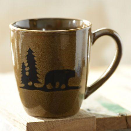 Brown Woodland Bear Mug | Kirklands
