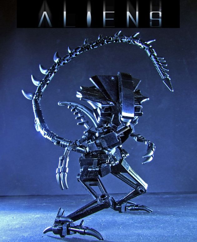 44 best images about Lego Aliens on Pinterest | Xenomorph ...