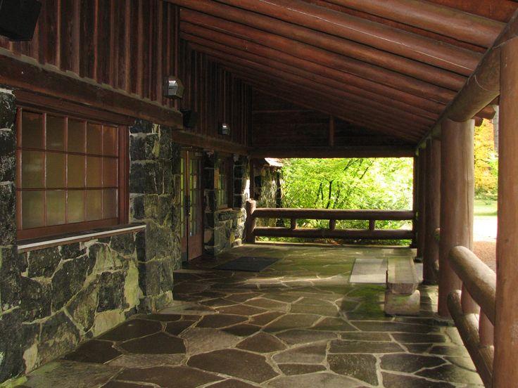 Silver Falls Lodge Porch