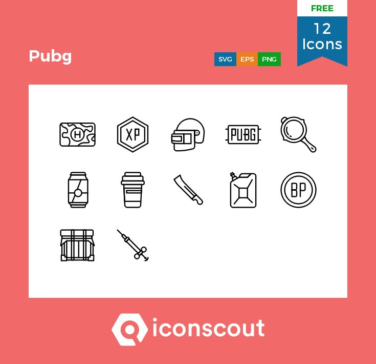 Download Download Pubg Icon pack - Available in SVG, PNG, EPS, AI ...