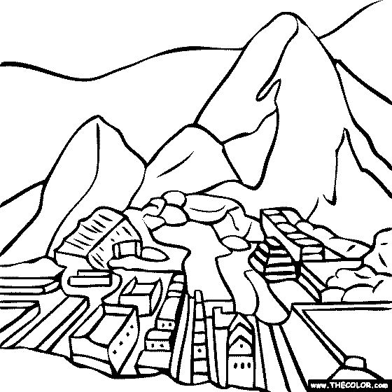 Coloring Sheets For Spanish Class : 8 best peru images on pinterest