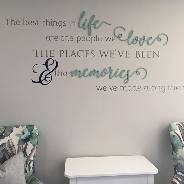 Can't think of a more perfect design in the rec room of this retirement home. We were very glad to have been part of the redesign of this stunning room by @candice_neerings #lovecocodecor #wallart #memories #retirementhome #inspiration