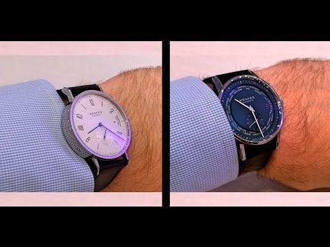En la muñeca: NOMOS Tangomat GMT y Zurich Worldtimer | Horas y Minutos