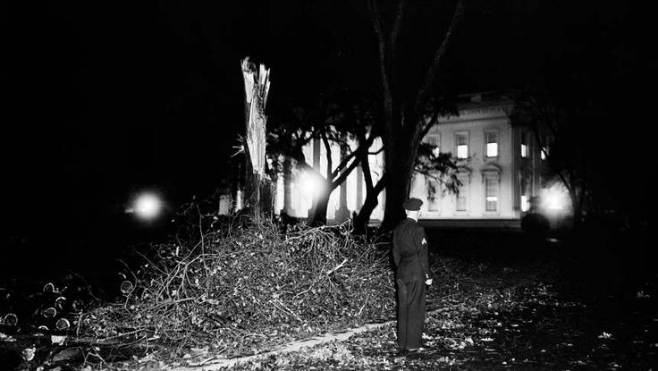 Hurricane Hazel 1954 The White House