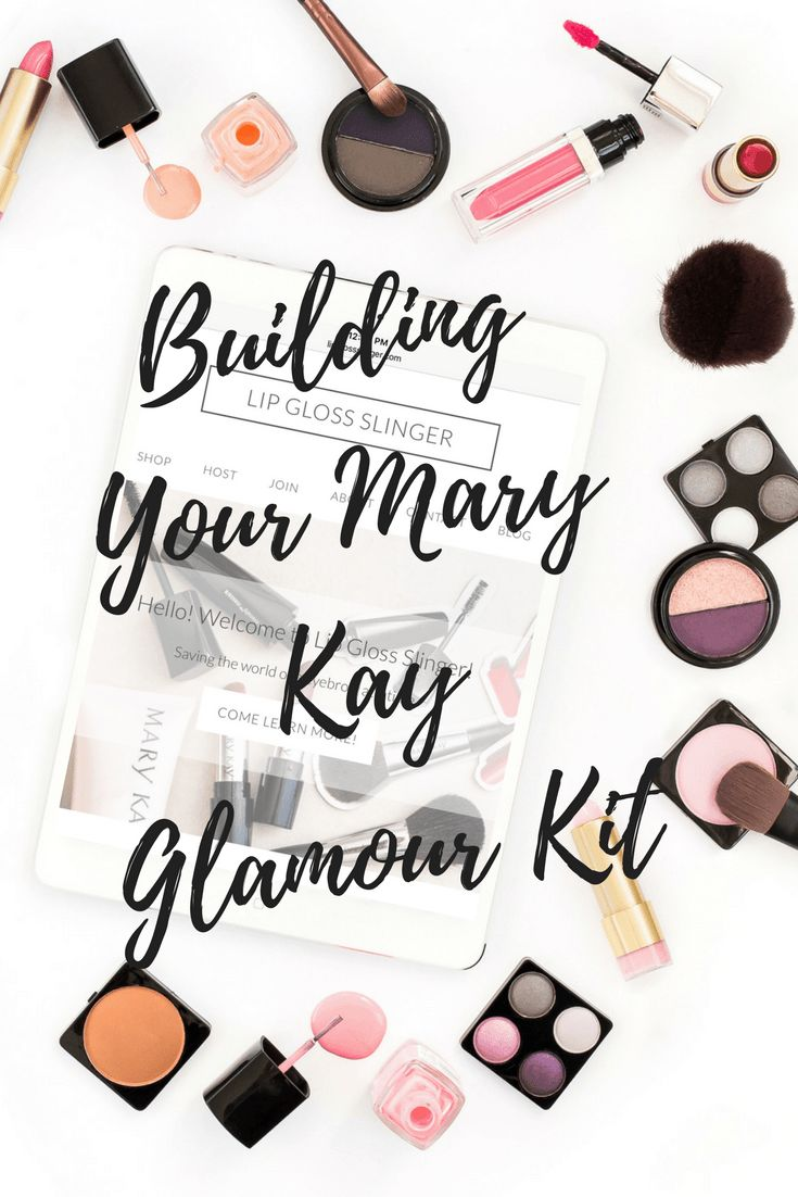 mary kay glamour kit Mary kay cosmetics, Mary kay marketing