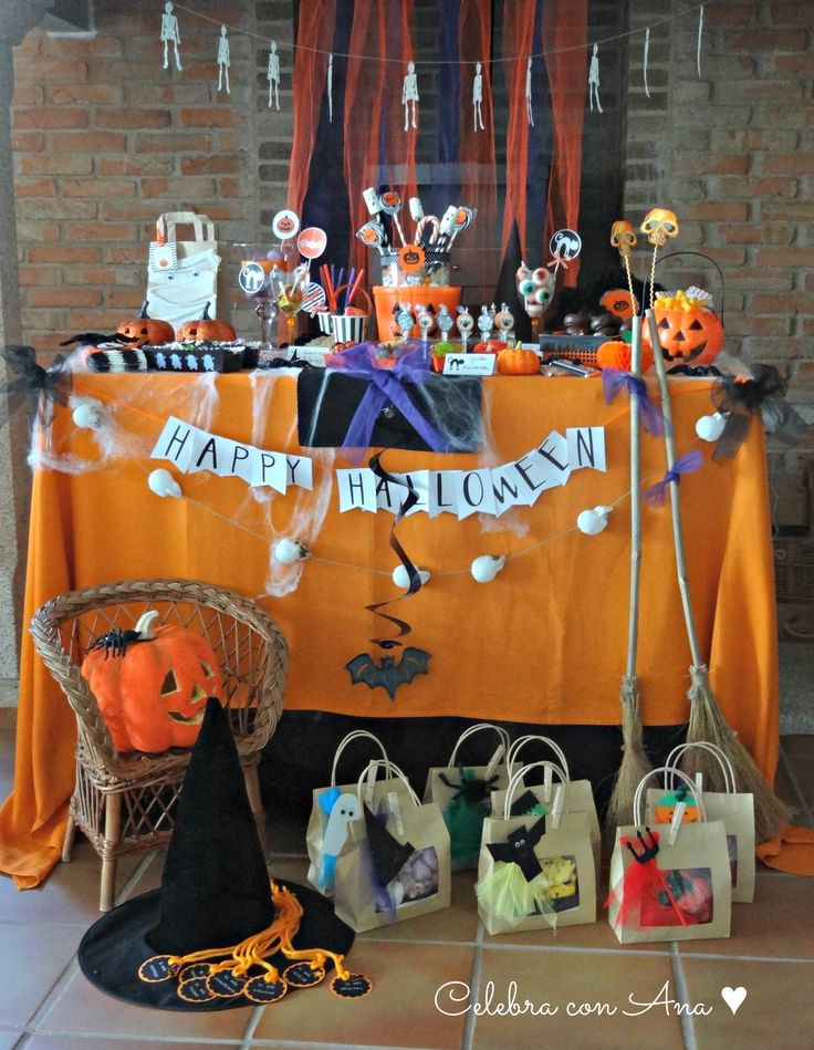 M s de 25 ideas incre bles sobre mesa de halloween en for Decoracion mesa halloween