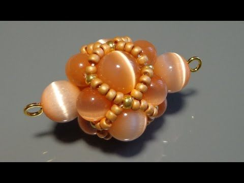 Видеоурок: Декоративный элемент из бусин и бисера