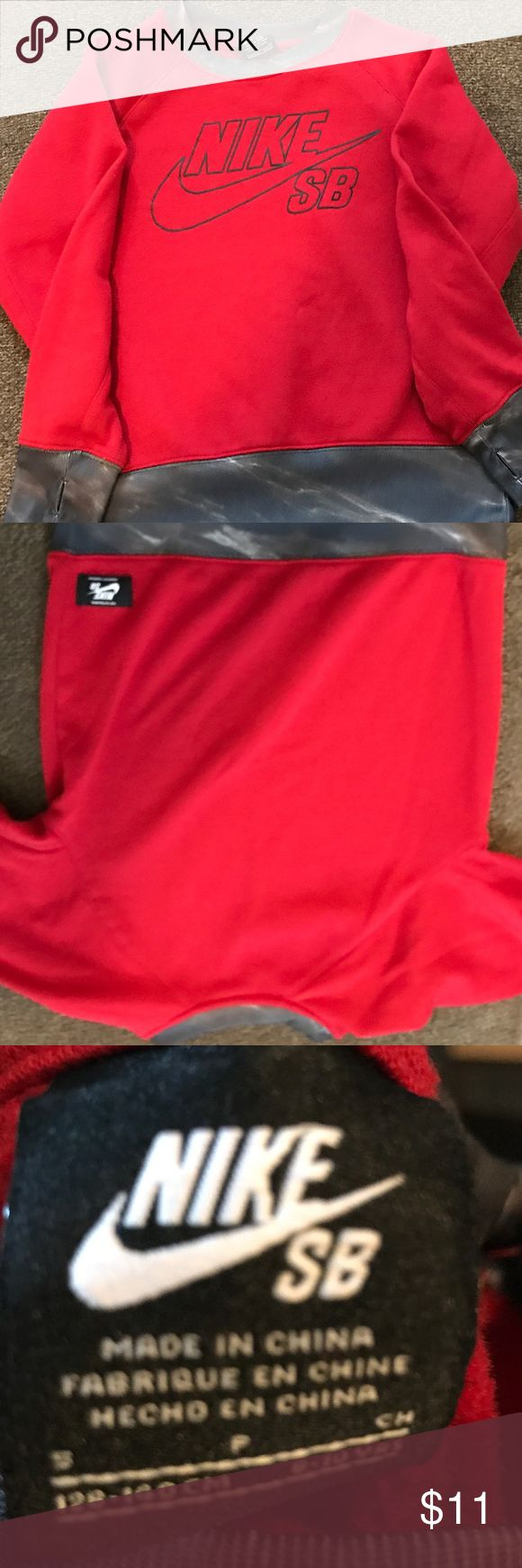 Nike Sweatshirt Red Nike Sweatshirt !!!!! Nike Shirts & Tops Sweatshirts & Hoodies