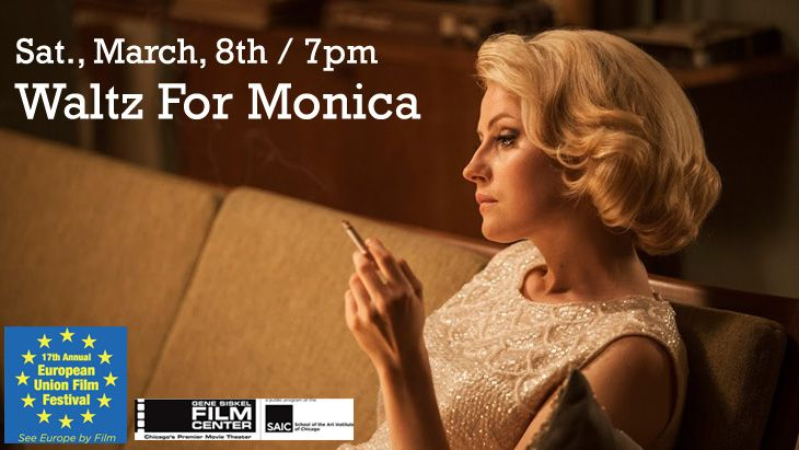 "Join us THIS SAT, for the sizzling & award winning biopic ""Waltz For Monica"" about the groundbreaking Swedish jazz singer Monica Zetterlund @ the Gene Siskel Film Center of the School of the Art Institute of Chicago Presented as part of the 17th Annual European Union Film Festival. #film #cimmfest2014 #waltz #history"