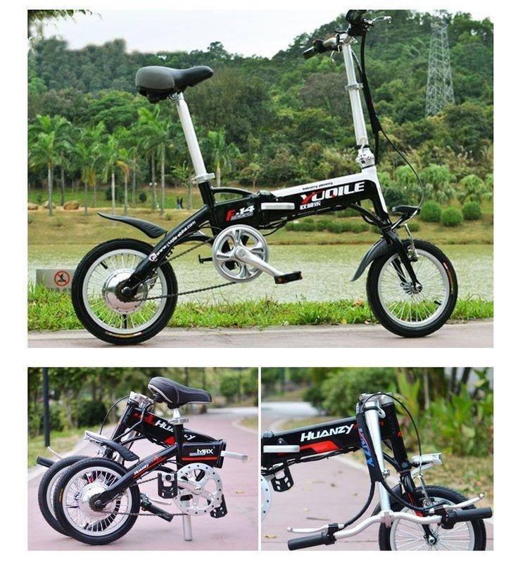 JT Autoparts 14 inch folding ebike Latest Unique Mini 14 inch Folding Foldable Aluminium Electric Bike Ebike With Lithium-ion Battery 36V 8Ah http://www.jtautoparts.com/lat