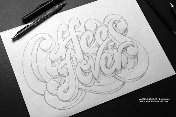 The Sketch Collection by Marcelo Schultz, via Behance