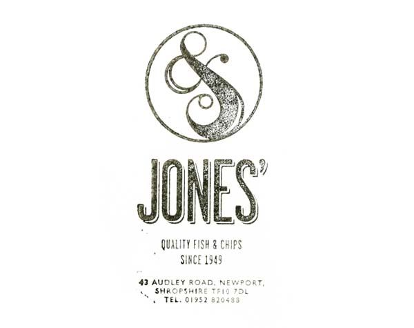 Jones Logo - Stamp Design by Andreas Neophytou