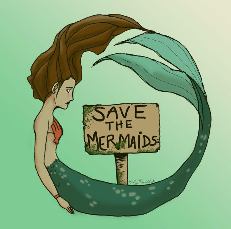 Save the Mermaids by emimichelle.deviantart.com on @deviantART