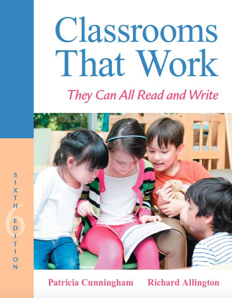 """UNDERSTANDING: Chapter 5 of CTW deepened my understanding of the processes students engage in when presented with an unfamiliar word. I learned that students will study an the word, look at al the letters, and consider the sounds of the letter patterns as """"good readers know that sounds are determined not by individual letters but by letter patterns (p. 60). This contributed to my understanding of the importance of teaching students letter patterns so that they can become successful readers."""