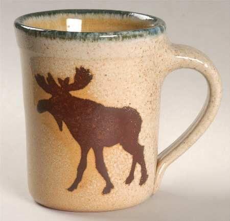 Moose mug! I love moose.