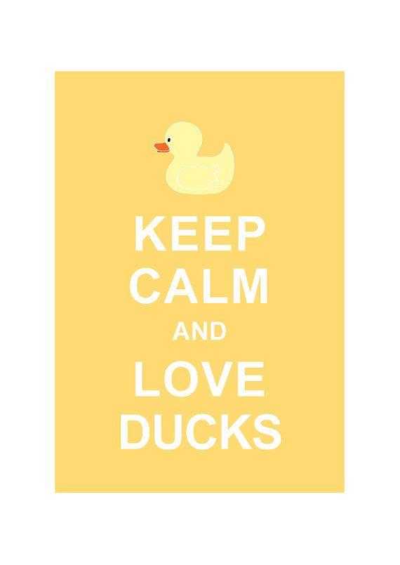 Keep Calm And Love Ducks Pastel Yellow Children Art Kids Room Decor Bathroom Decor Buy 2 Get 1 Free Rubber Duck Bathroom Kids Room Art Kid Room Decor