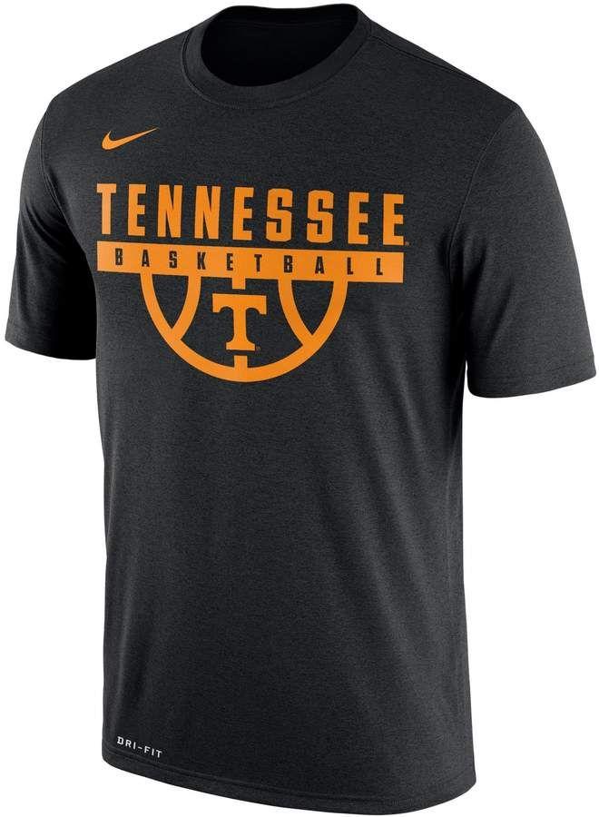 Men S Nike Tennessee Volunteers Dri Fit Basketball Tee Basketball Shirt Designs Basketball Tees Nike Men