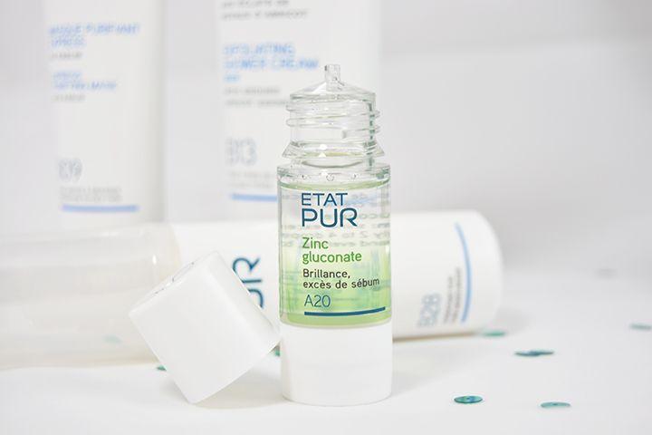 Actif pur zinc gluconate - Etat Pur