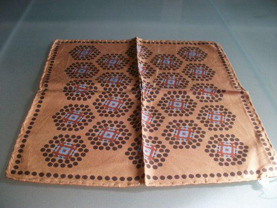 French Gentlemans Silk Hanky Handkerchief Cream & by LaCravate