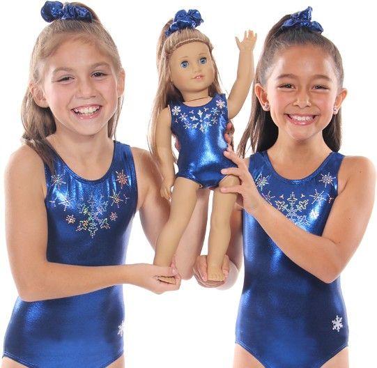 Cute Frozen Doll Leotard and Scrunchie Matches our Frozen leotard, too!