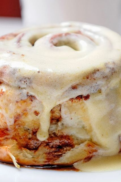 Clone of a Cinnabon-I do these the night before and let them rise...then I get them out the next morning 30 minutes before baking them and HOT FRESH CINNAMON ROLLS IN THE A.M. ! They are fabulous!