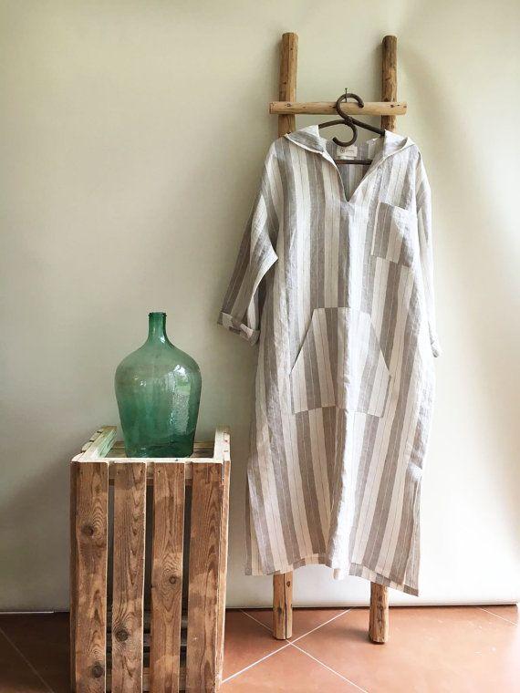 Men linen robe, mens kaftan, linen kaftan, men caftan, plus size robe, men's kaftan, plus size caftan, kaftan men, linen pyjamas, mens gift