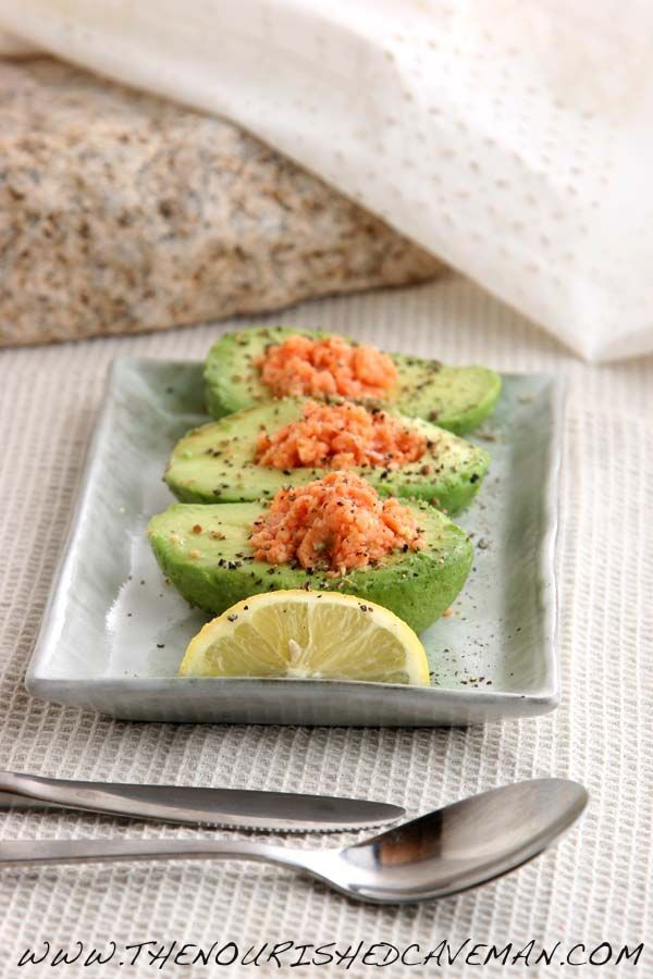 Avocado and Salmon Low Carb Breakfast Love the goat cheese option