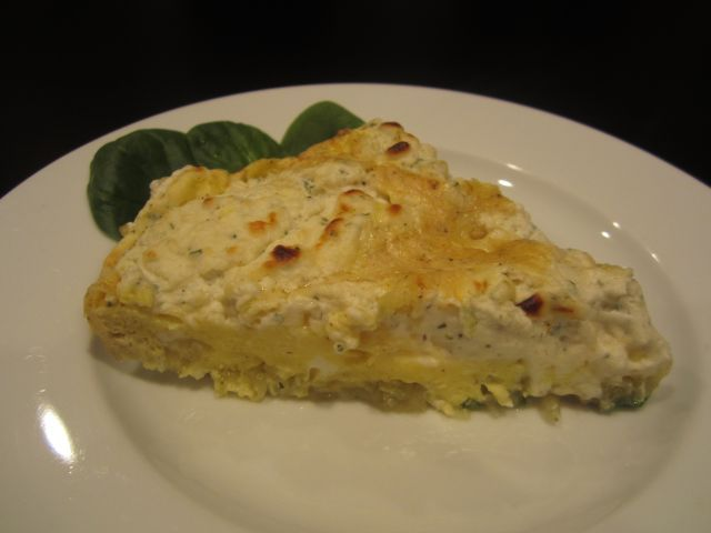 Virgina Plantation has another yummy #recipe - #Potato and #Boursin #Frittata @Belle Grove Plantation Bed and Breakfast