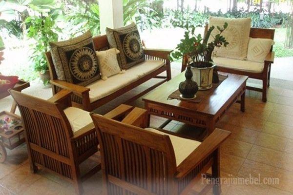 desain ruang tamu dengan kursi tamu minimalis leO