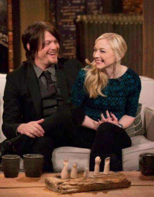 Norman Reedus and Emily Kinney - Daryl and Beth | The Walking Dead - Bethyl / Normily