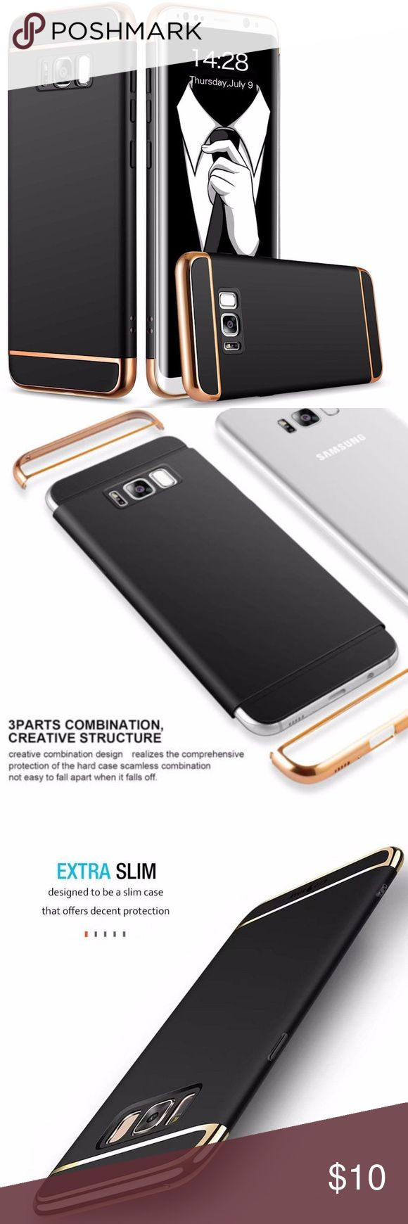 Galaxy S8 phone Cover For Samsung Galaxy S8 Case Slim Luxury Electroplate Hard Shockproof Cover Made from specially electroplated and metallic finished Polycarbonates, these cases look and feel luxurious. The case made of PC material will not block the signal and it can always keep the signal full grid Accessories Phone Cases
