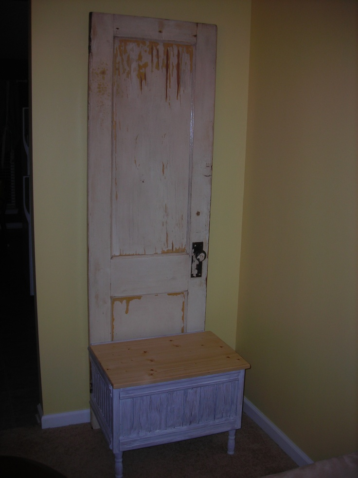 Then it was 1940's House Door, Now it's a Hall Tree.